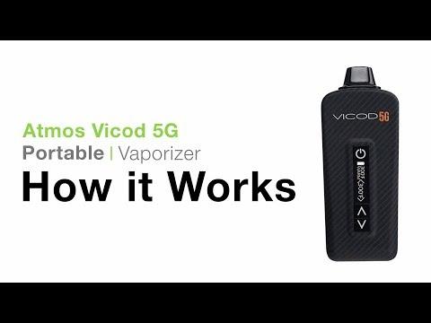 Atmos Vicod 5G (Kandypens Miva) Vaporizer Tutorial