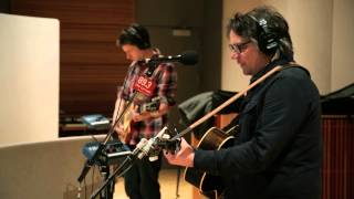 "Tweedy, with Jeff Tweedy and son Spencer, perform ""Summer Noon"" liv..."