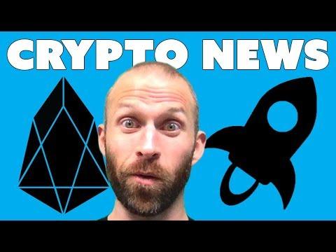 Crypto News Today - EOS, Stellar, etc...