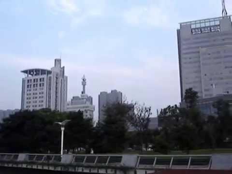 A port city of Zhenjiang Jiangsu on the Yangtze River