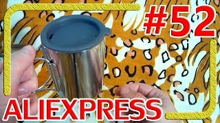 Туристическая термокружка из нержавеющей стали - Распаковка Обзор - Алиэкспресс #52