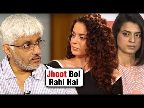 Kangana Ranaut's Sister Rangoli Gets SLAMMED By Vikram Bhatt