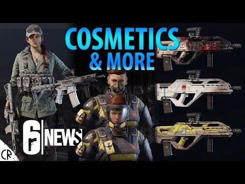 Cosmetics & more - Operation Chimera Outbreak - 6News - Tom Clancy's Rainbow Six