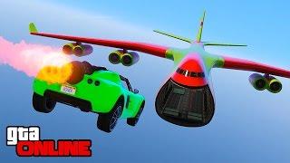 ROCKET CAR PLANE TRANSFER & OTHER STUFF! || GTA 5 Online || PC (Funny Moments)