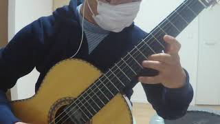 guitar  cover Joe Hisaishi [First Love]  : ソロギター 初恋 久石譲