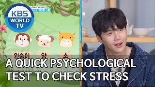 A quick psychological test to check your stress [2 Days & 1 Night Season 4/ENG/2020.05.10]