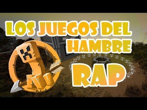 LOS JUEGOS DEL HAMBRE MINECRAFT RAP  Zarcort y Cyclo