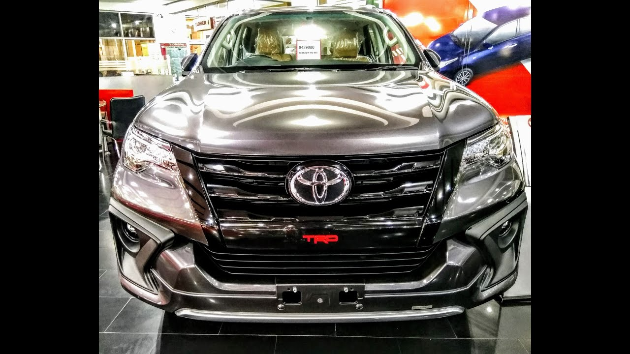 video Toyota Fortuner TRD Sportivo 2021 Price, Specifications & Features in Pakistan