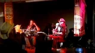 SOUTHERN COMFORT DUO - COCAINE BLUES (Johnny Cash cover) live @ Pannuhuone Kuopio 8.8.2013