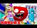 ROBLOX Little Leah Plays - I'M TRAPPED IN A SUPERMARKET - ESCAPE THE MALL OBBY!!