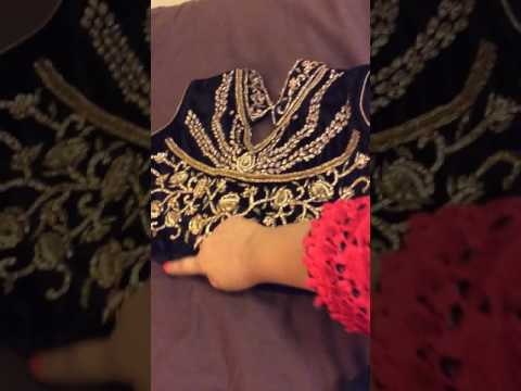 Easiest Way Making Pretty Lehnga Choli From Old Anarkali Suit (Part 2)