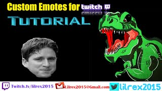 How to make your own Emotes on Twitch