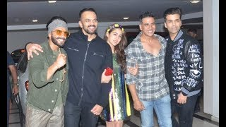 Simmba Movie Success Party | Ranveer Singh, Deepika Padukone, Sara Ali Khan