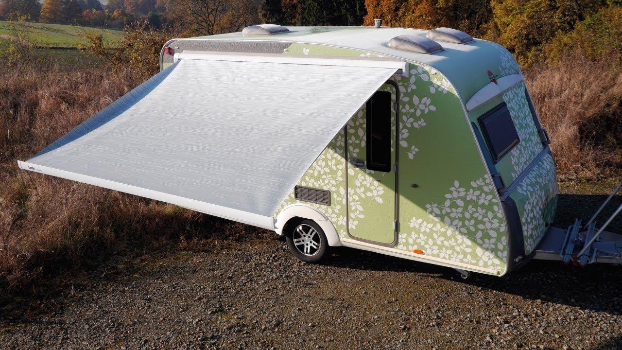 DIY Repair Of Motorhome Caravan Camper Tent Awning Cloth