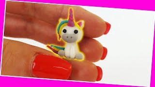 Mini Unicorn / Fondant Unicorn making / Mini Cooking / Mini Food / 食べれるミニチュア