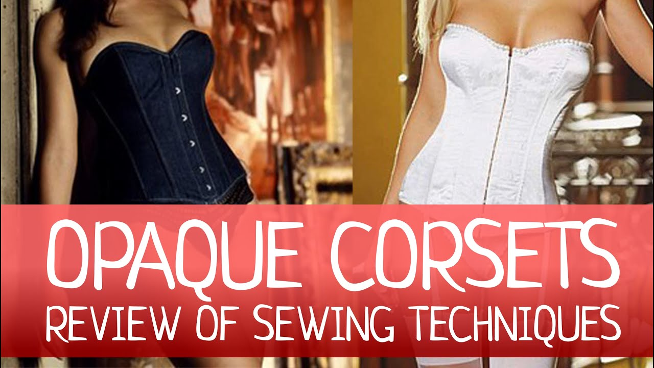 how to make a corset without sewing