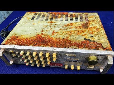 Restoration california amplifier old | Restore classic brand amplifier of california electronic