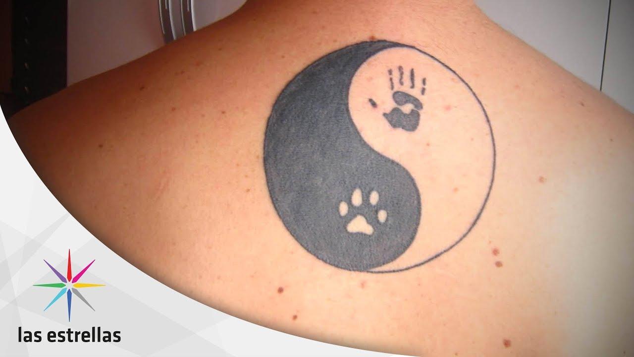 Consigue La Armonía Del Ying Yang Con Un Tatuaje Las Estrellas