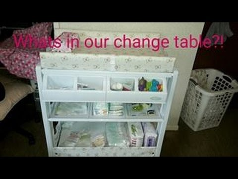 What's in our Change Table?