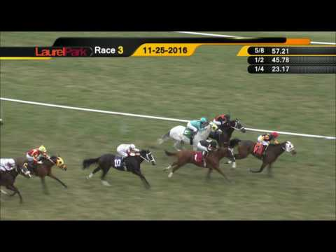 Laurel Park Replay Show 11 25 16