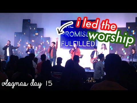 Leading Worship (Christian Church) + #YSChristmasParty2017   Arj Barcelona
