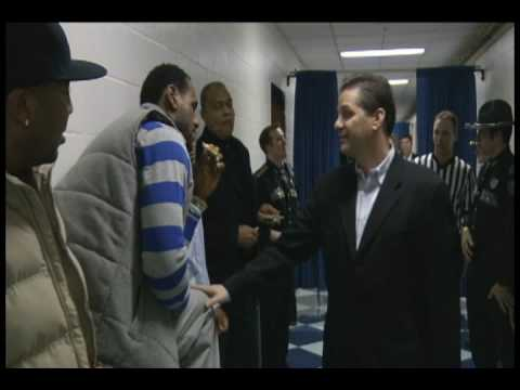 Coach Cal TV: LeBron James visits UK
