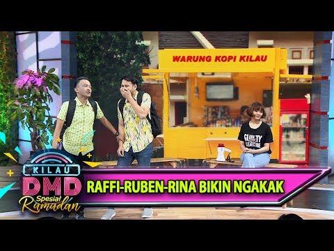 Tingkah Ruben-Raffi-Rina Yang Bikin Ngakak - Kilau DMD (18/5)
