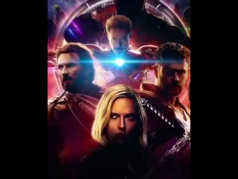 MCU's MARVELS Avengers Infinity War 3D Animated Movie Poster 2018