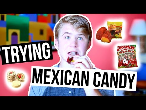 TRYING MEXICAN CANDY! | PARKER FERRIS