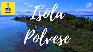 Isola Polvese - Lago Trasimeno Drone video