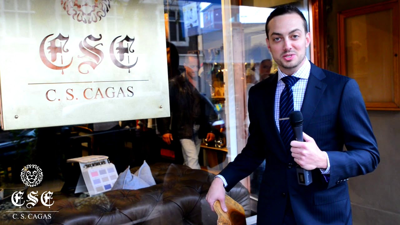C S Cagas Grand Opening In Montclair Nj Custom Dress Shoes