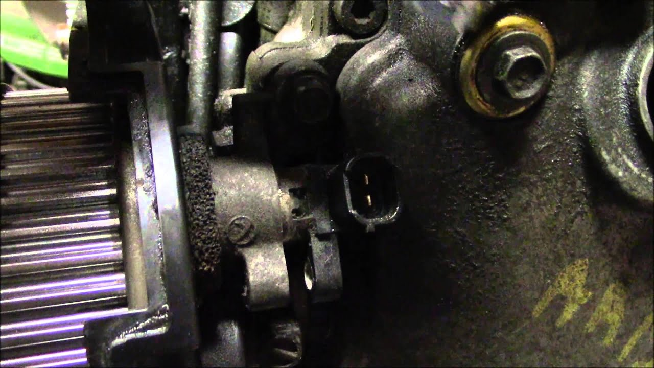 Camshaft Sensor Replacement EJ Series Single Cam Subaru