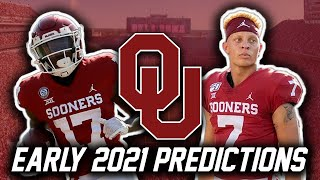 Oklahoma Football Early 2021 Predictions And Preview | Oklahoma Sooners
