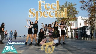 [KPOP IN PUBLIC TURKEY] TWICE (트와이스) - Feel Special Dance Cover [TEAMWSTW]