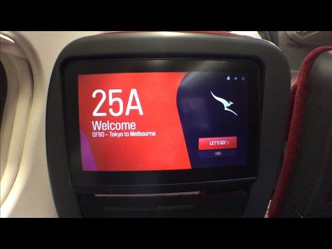 Qantas NEW A330 experience: QF80 Tokyo Narita to Melbourne (Economy class)