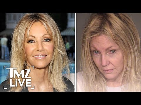 Heather Locklear Arrested For Attacking A Cop!  TMZ Live