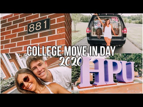 College Move in Day Vlog 2020! High Point University!