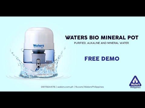 Water Purifier: Waters Bio Mineral Pot 1000 Noah+ | Product Demo