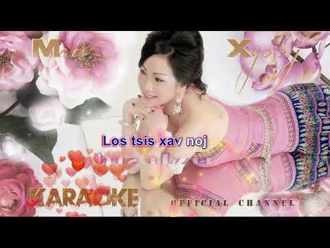 Instrumental Karaoke - Cev Nkauj Xwb by Maiv Xyooj with Lyrics (New Karaoke Version) Re-upload