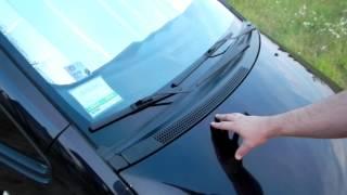 Бортжурнал Mitsubishi Colt  Замена щеток стеклоочистителя