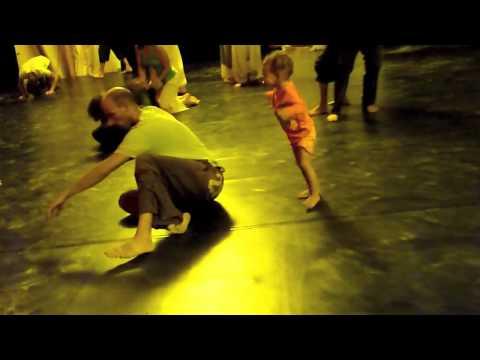 Sophie & Itay Yatuv (Contact Improvisation Festival: Ibiza)... filmed by Aaron Brando