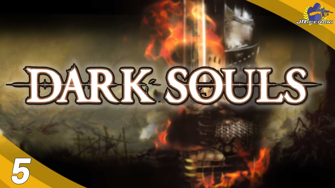 Let\'s Play - Dark Souls pt. 5 [Darkroot Garden] - YouTube