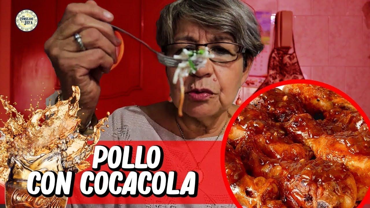 Pollo con COCA COLA en CHIPOTLE dulcecito y picosito