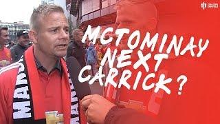 MCTOMINAY: THE NEXT CARRICK! Kristansund BK 0-1 Man Utd Fan Cams