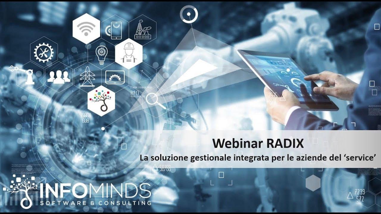 Webinar: Gestire i 4 problemi del service management con Radix