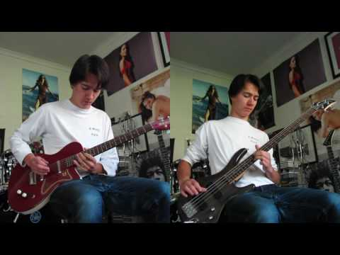Red Hot Chili Peppers - Goodbye Angels (guitar & bass cover)