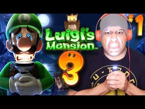 IT'S FINALLY HERE!! LET'S PLAY!! [LUIGI'S MANSION 3] [#01]