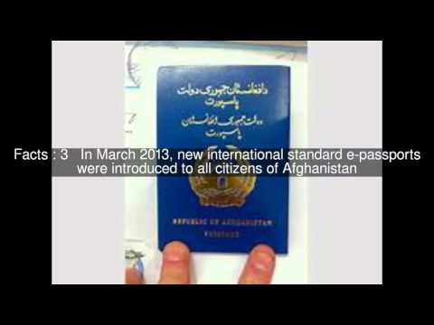 Afghan passport Top  #6 Facts