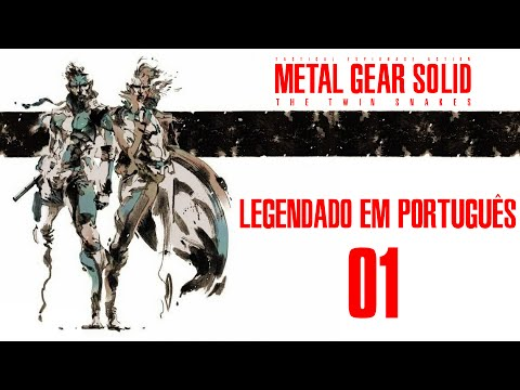 Trailer do filme Metal Gear Solid: The Twin Snakes - O Filme