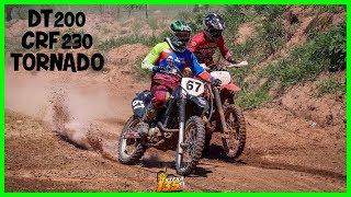 DT 200 vs CRF 230 vs TORNADO 250 NO VELOCROSS 2019 !